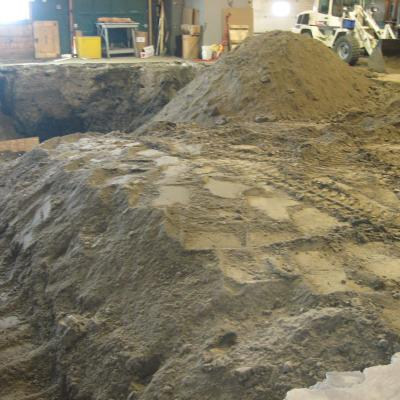 Excavation Interieur 4